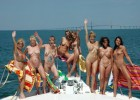 Big sex party on the yacht with hot teens and mature sluts